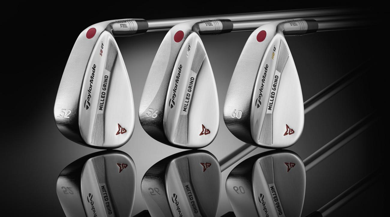 TaylorMade's new Milled Grind wedges.