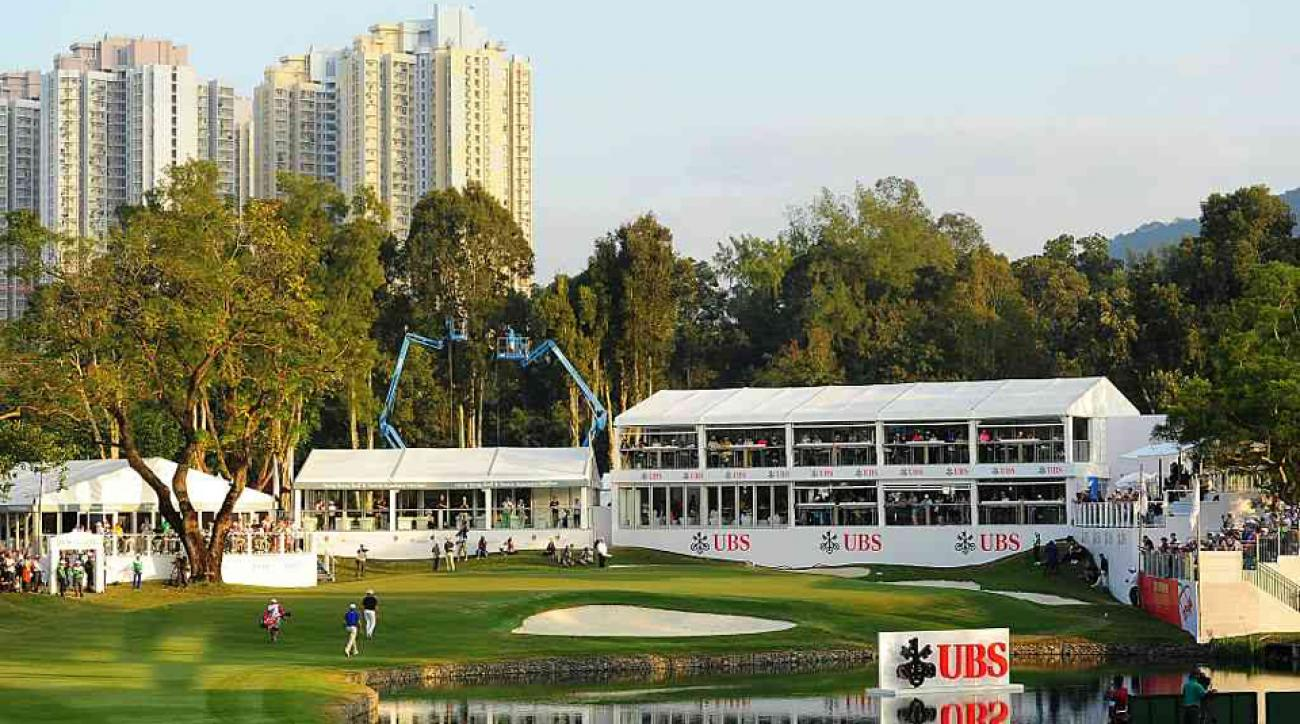 The Hong Kong Golf Club hosts one of three annual European Tour events held in China.