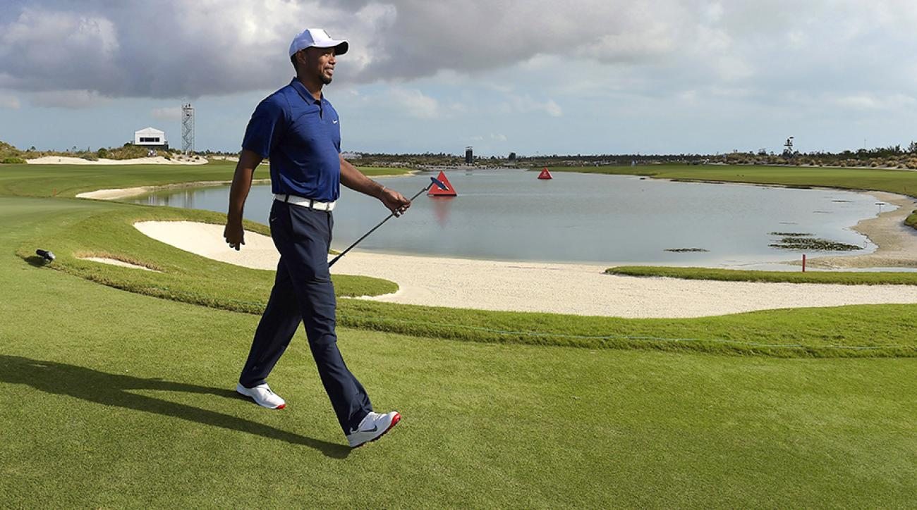 Tiger Woods makes his first PGA Tour start in 17 months this week.