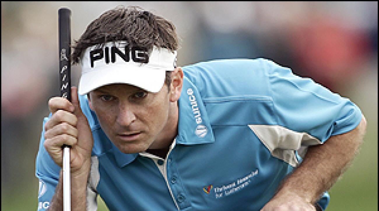 Just like Billy Berue: Mark Wilson's job was made that much easier by a blazing putter.