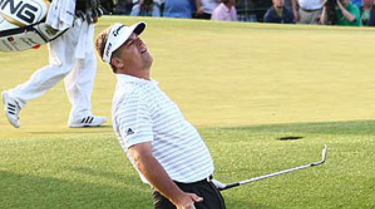 Kenny Perry narrowly missed becoming the oldest major championship winner.