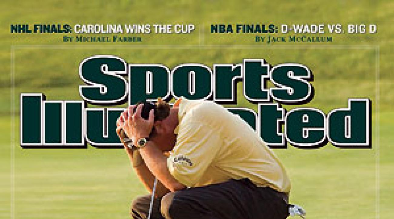 Sports Illustrated's cover.