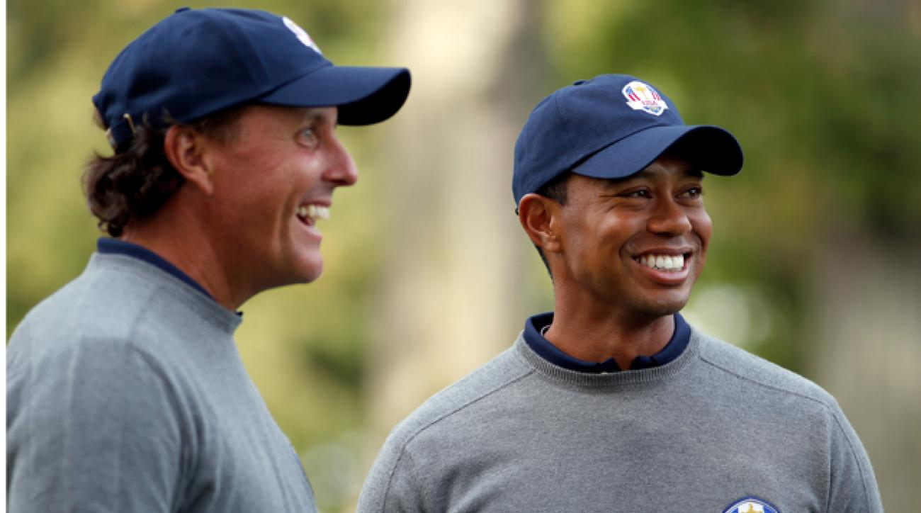 Phil Mickelson and Tiger Woods made almost $9 million combined on the golf course last year.