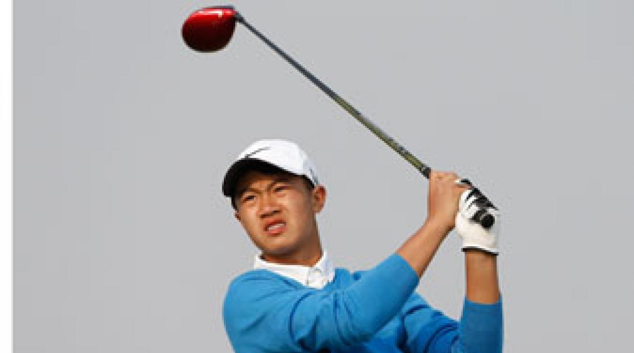 12-year old Ye Wo-cheng is set to play in the European Masters in September.