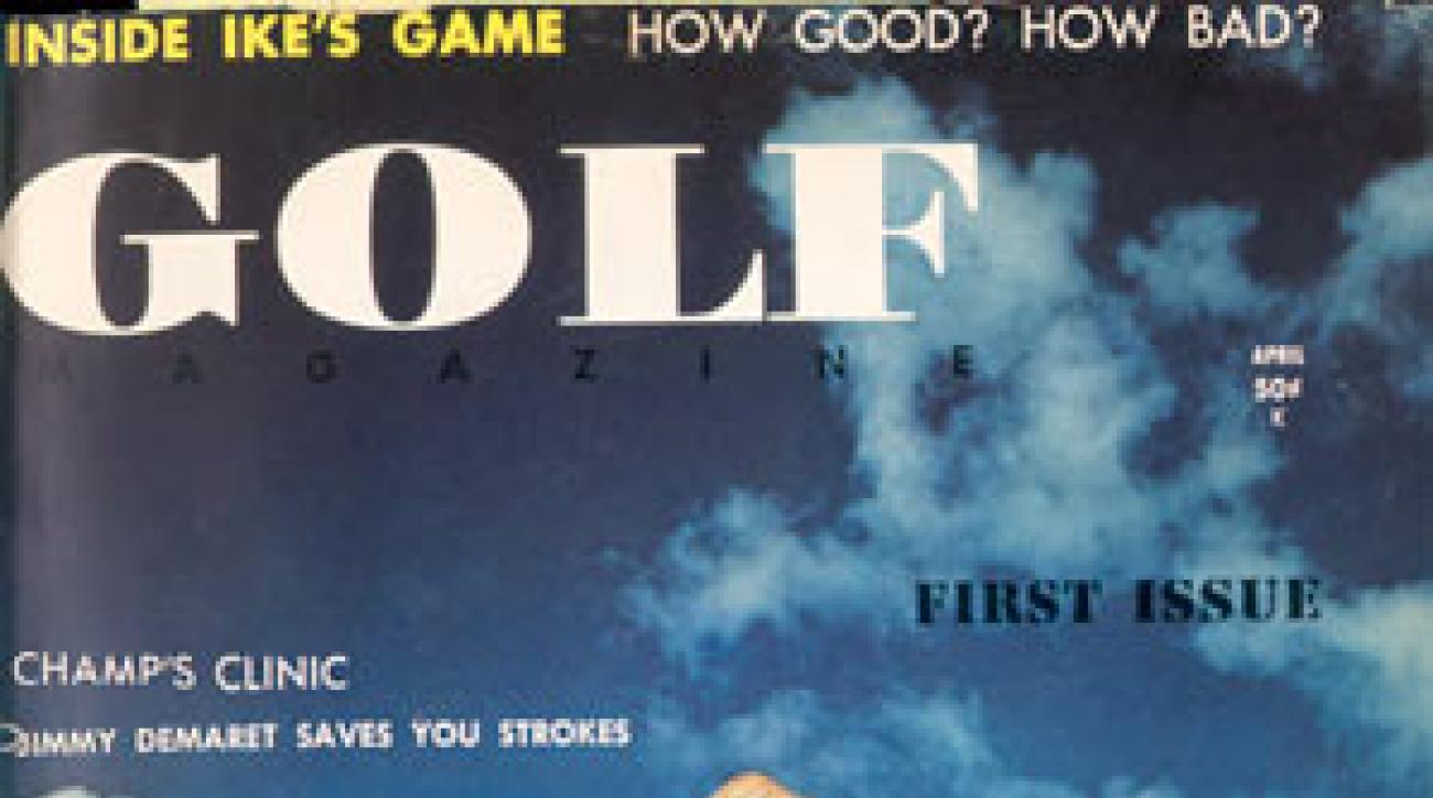 GOLF Magazine First Issue - April 1959