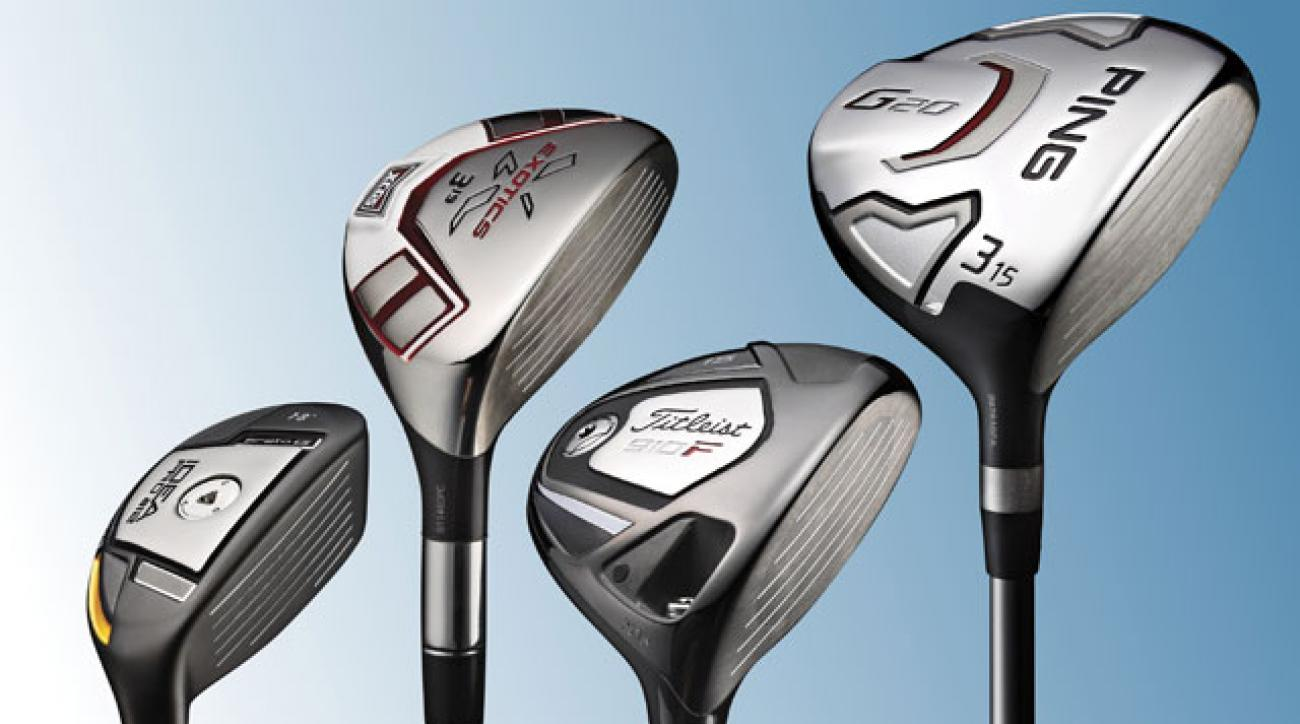 ClubTest 2012: Hybrids and Fairway Woods