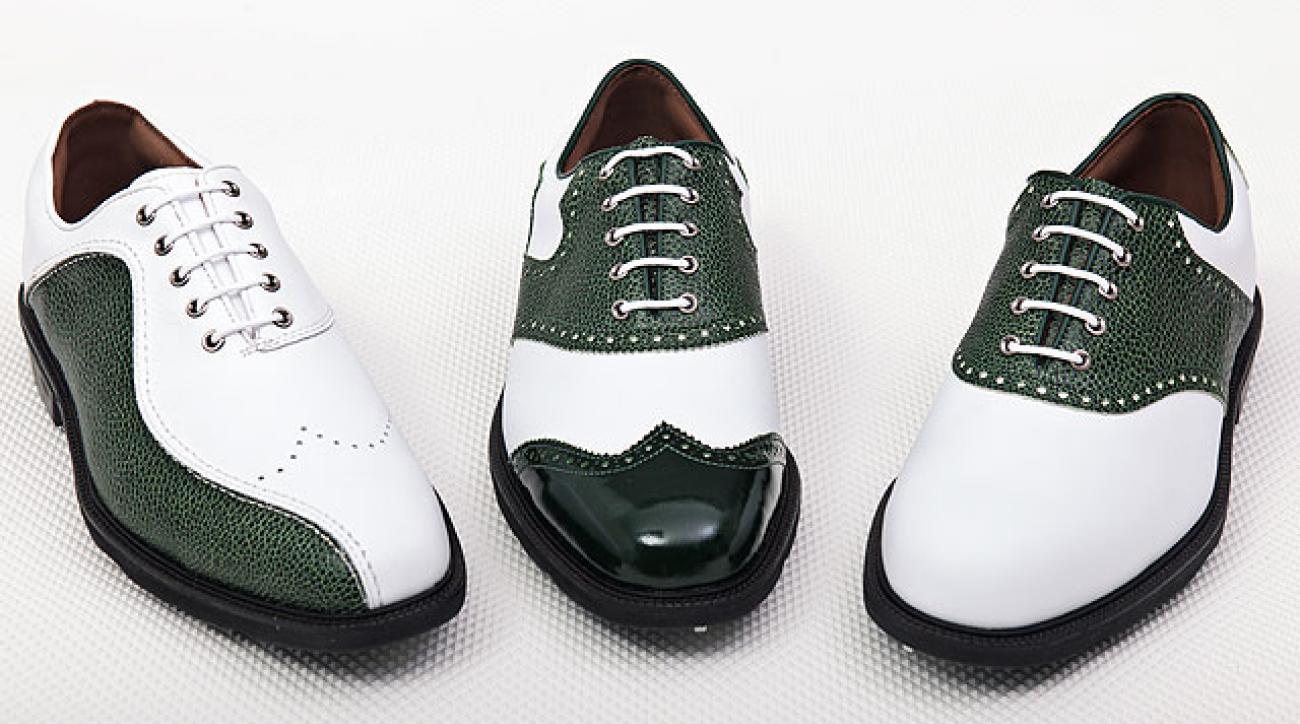 FootJoy's 2012 Augusta-themed footwear.