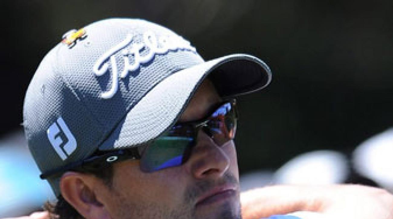 Adam Scott defends his Australian Masters title this week.