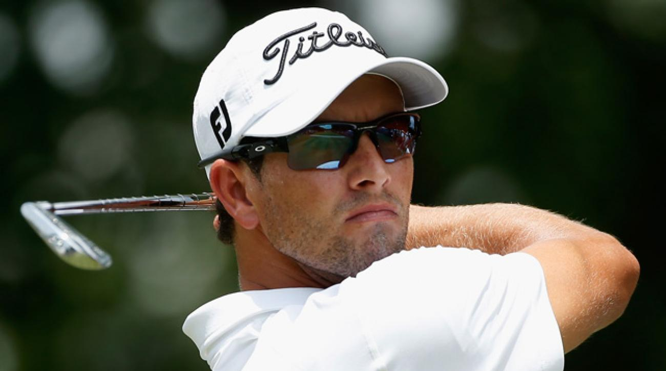 The victory was Adam Scott's 11th on the PGA Tour.