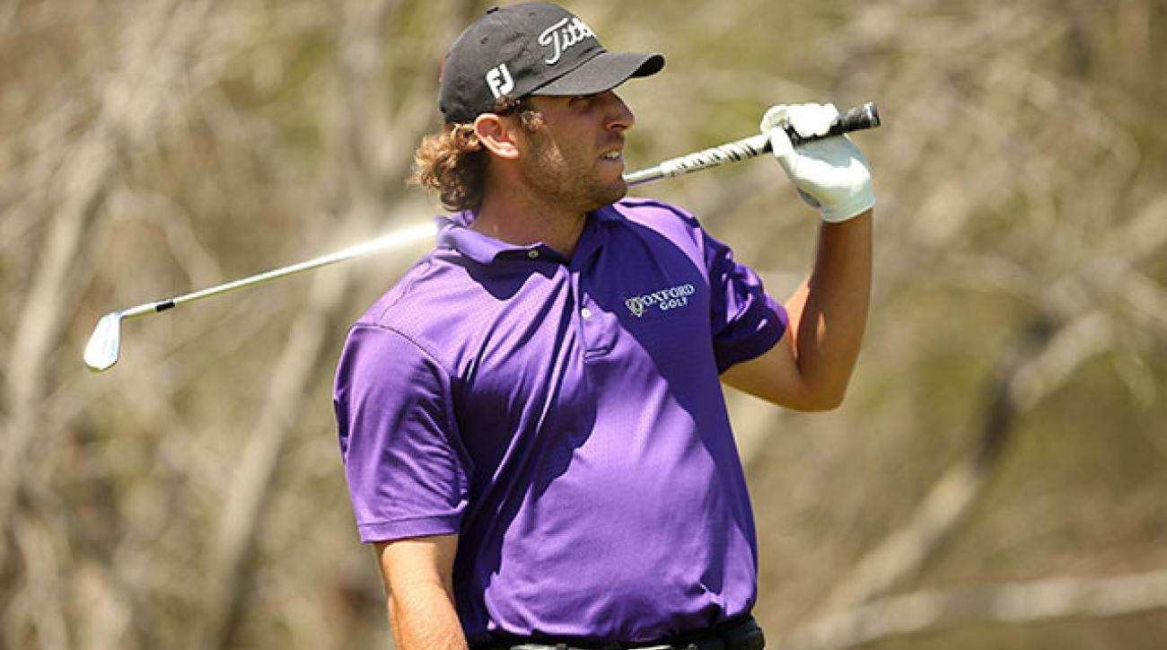 Andrew Loupe's final group took three hours to play the front nine at TPC San Antonio on Sunday.
