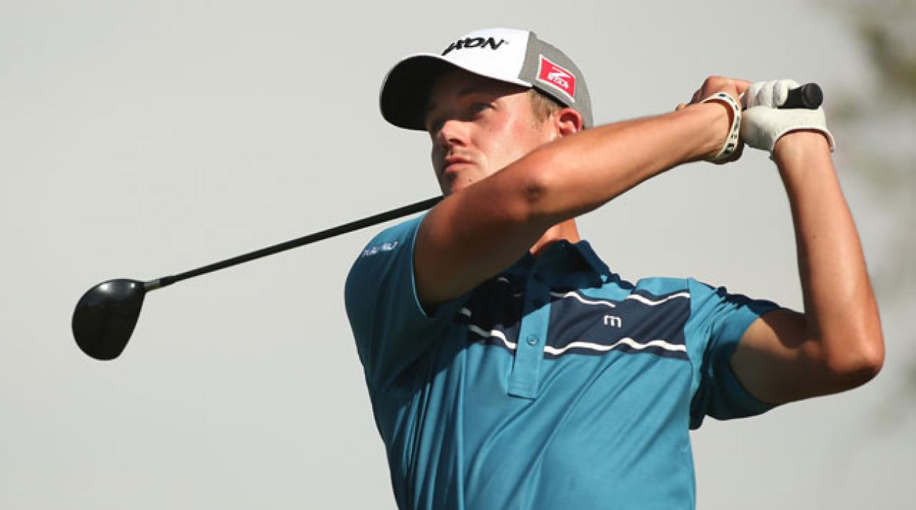 Andrew Putnam shares the Shriners Hospital lead with Russell Knox after two rounds.
