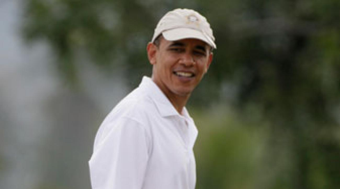 President Obama should be golf's new goodwill ambassador.