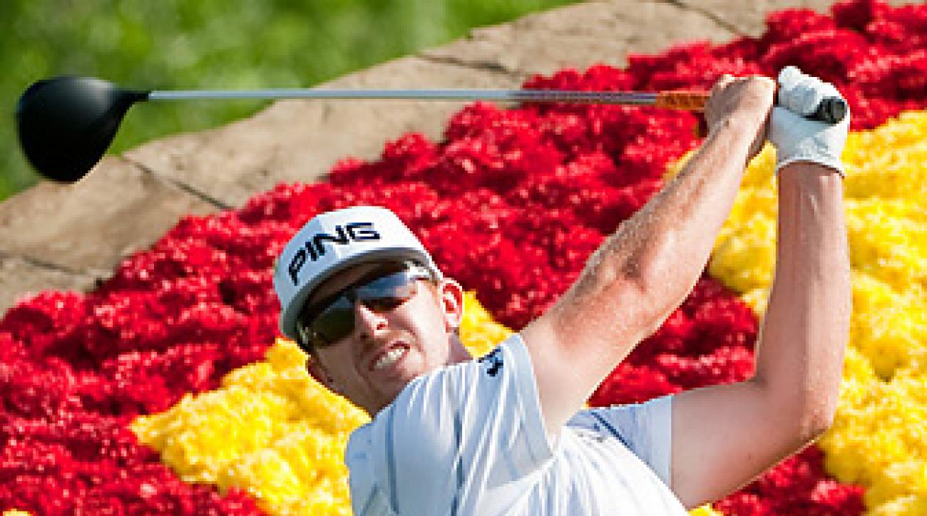 Hunter Mahan was cool off the tee while winning the Houston Open.