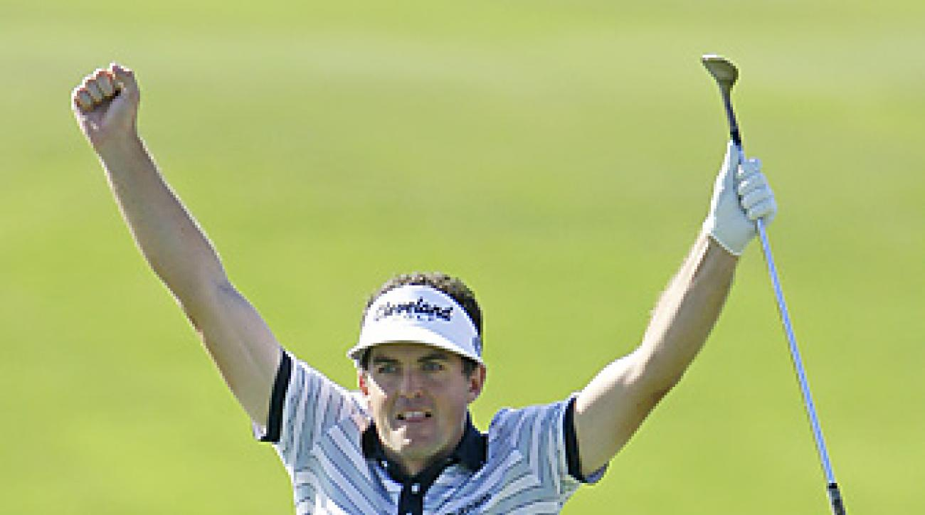 Keegan Bradley kicked off his 2012 season at the Tournament of Champions in Kapalua.