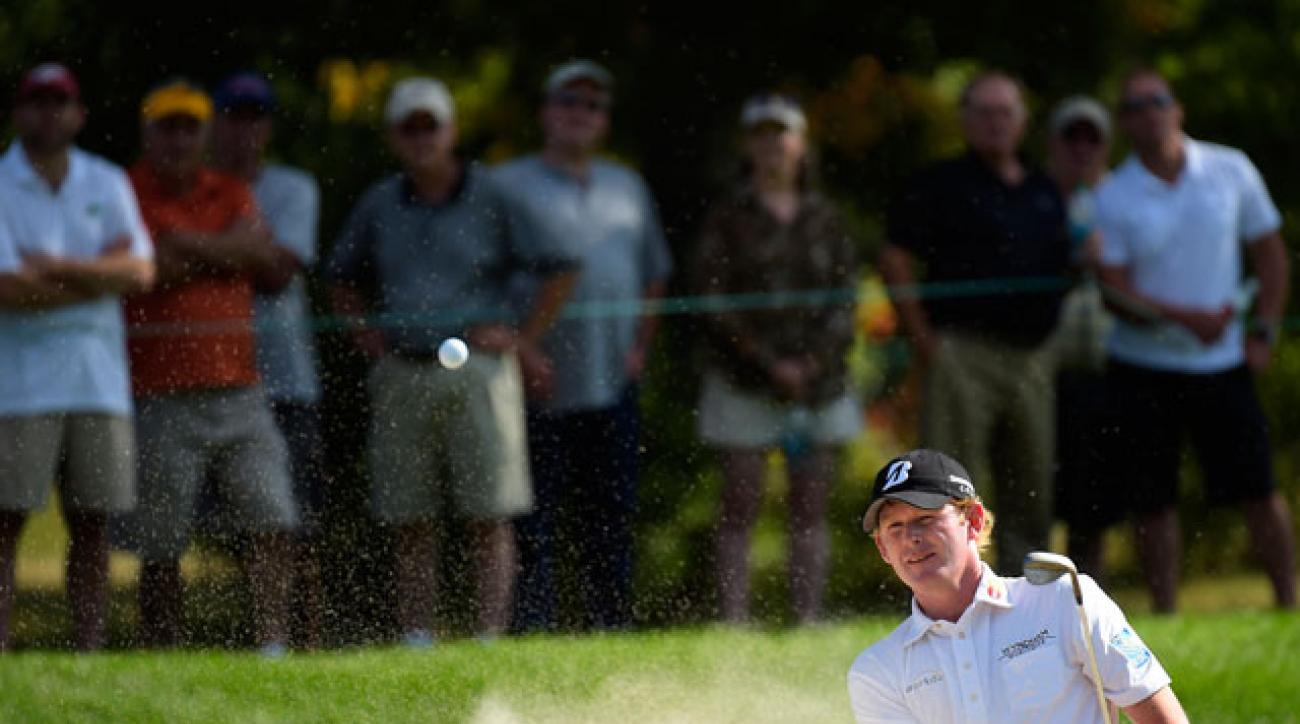 Brandt Snedeker shot 72-76 and missed the cut at the Deutsche Bank Championship.