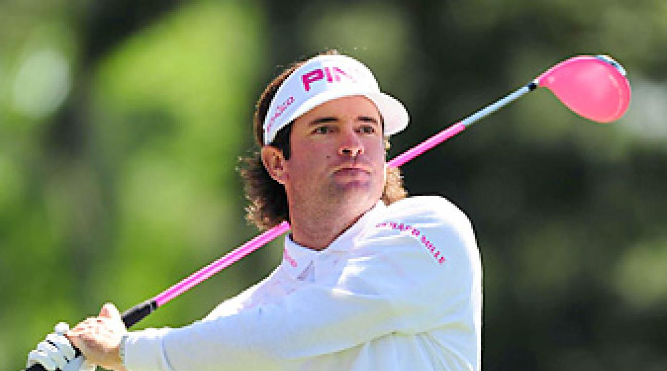 Bubba Watson won the 2012 Masters for his first career major title.