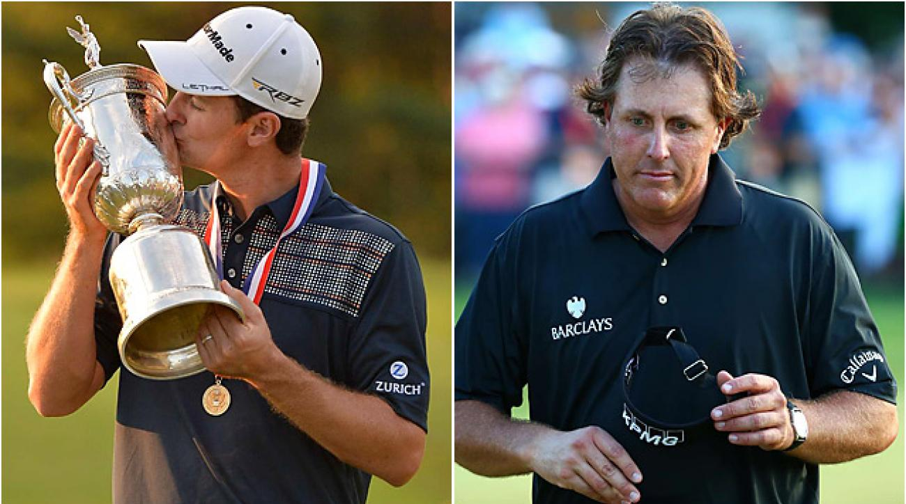 Justin Rose earned his first career major title by two shots ... while Phil Mickelson took home a sixth runner-up at the U.S. Open.