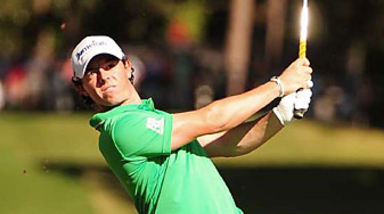 At age 23, Rory McIlroy has two major titles and the No. 1 ranking.