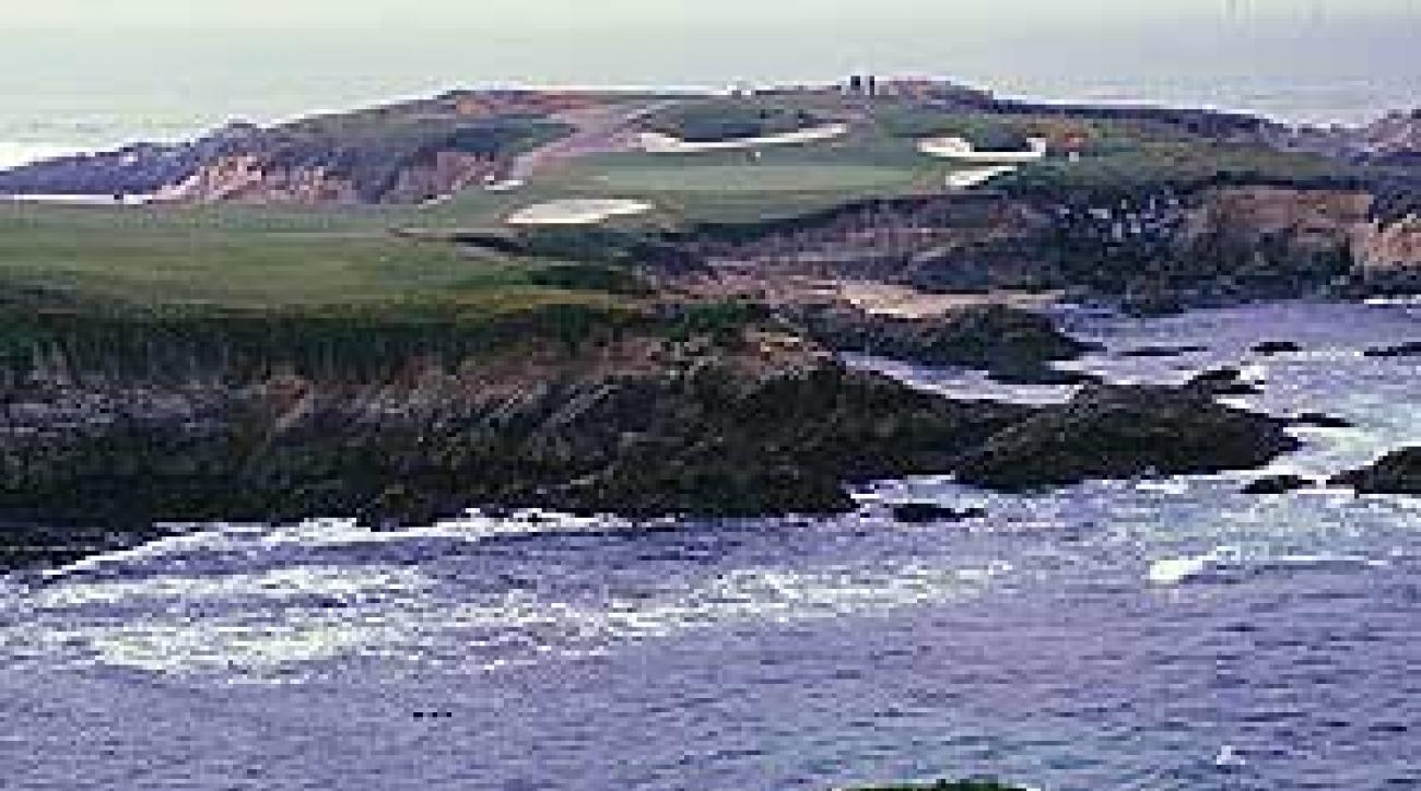 No. 16 at Cypress Point Golf Club