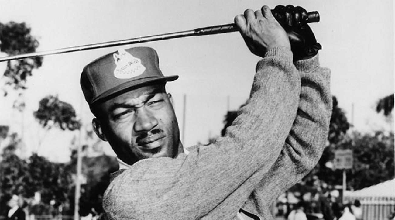 Charlie Sifford in 1962, the year after he earned his PGA Tour card.