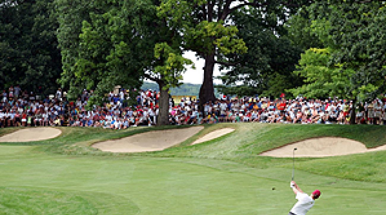 Dubsdread is marked by tight, rolling fairways, plenty of bunkers and large trees.
