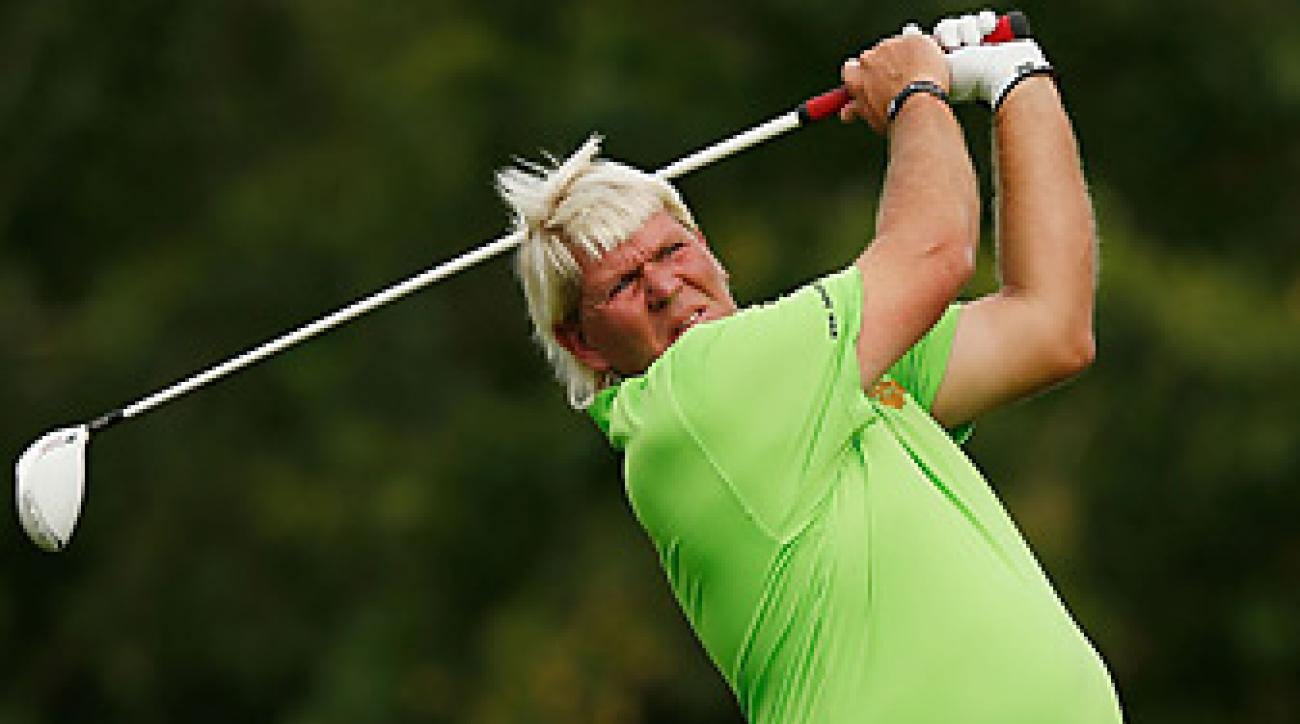 John Daly is playing in Shanghai this week at the BMW Masters.