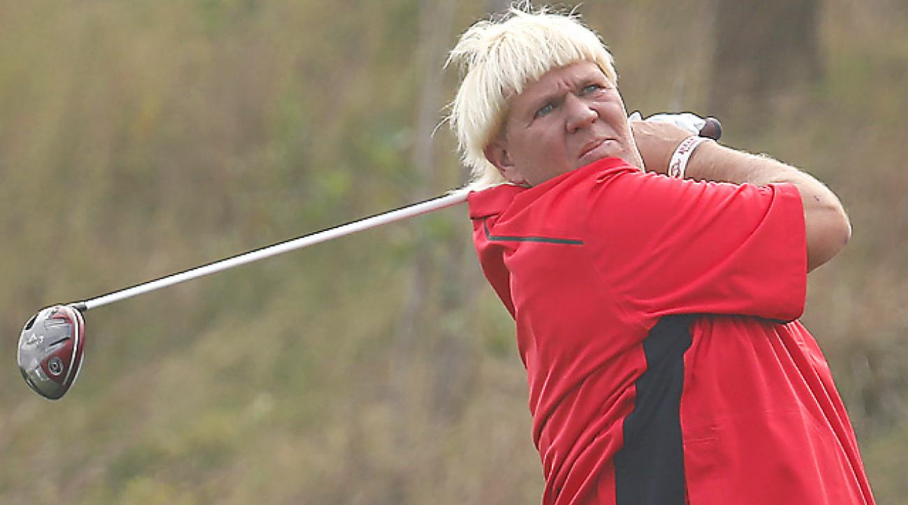 John Daly will play this week at the Alfred Dunhill Championship.