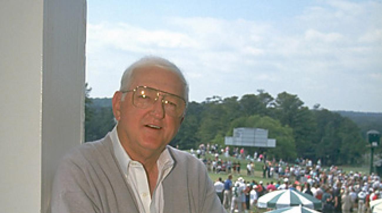 Dan Jenkins at the 1994 Masters.