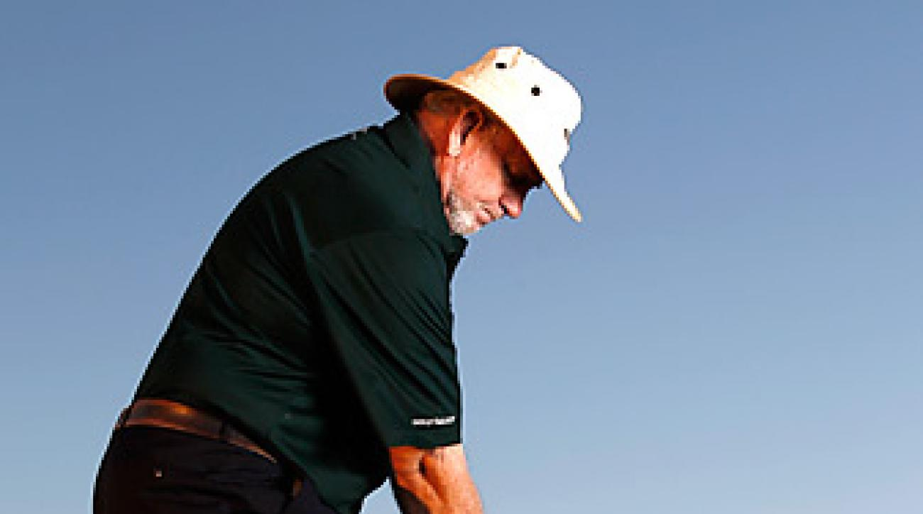 Adjust for the wind on short shots just as you do on drives and               long approaches. This goes for putts, too.