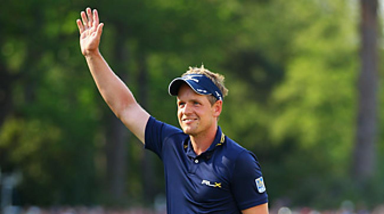 Luke Donald won the BMW by four shots and reclaimed the No. 1 ranking from Rory McIlroy.