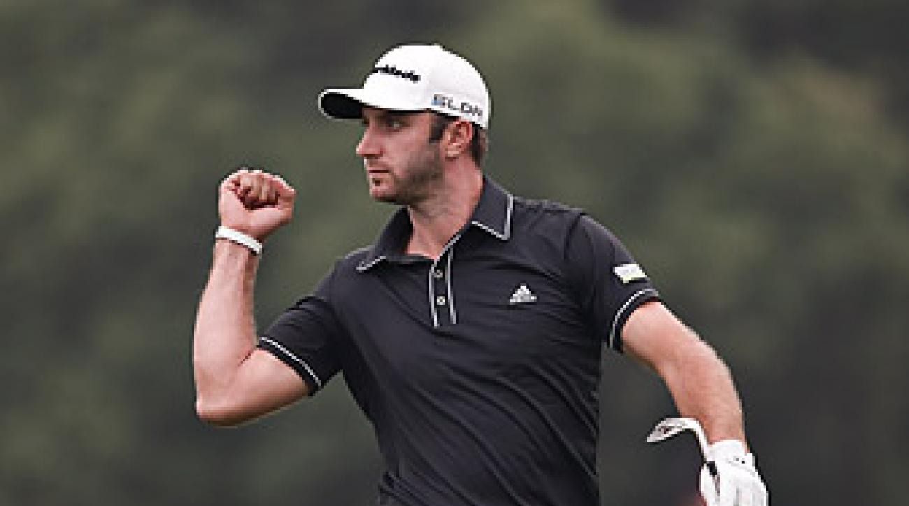 At 29, Dustin Johnson has already won eight times on Tour, but a few memorable major collapses have deprived him of a signature victory.