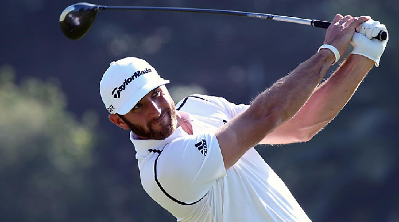 Dustin Johnson's last win came at the 2013 HSBC Champions in Shanghai.
