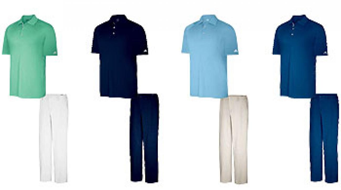 Dustin Johnson's 2011 Masters apparel scripting.