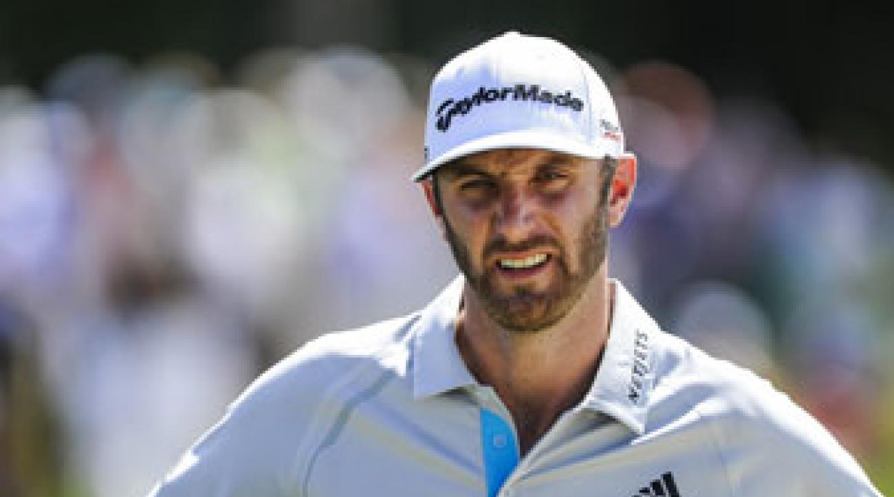 Dustin Johnson's endorsement contract with TaylorMade runs through 2015.