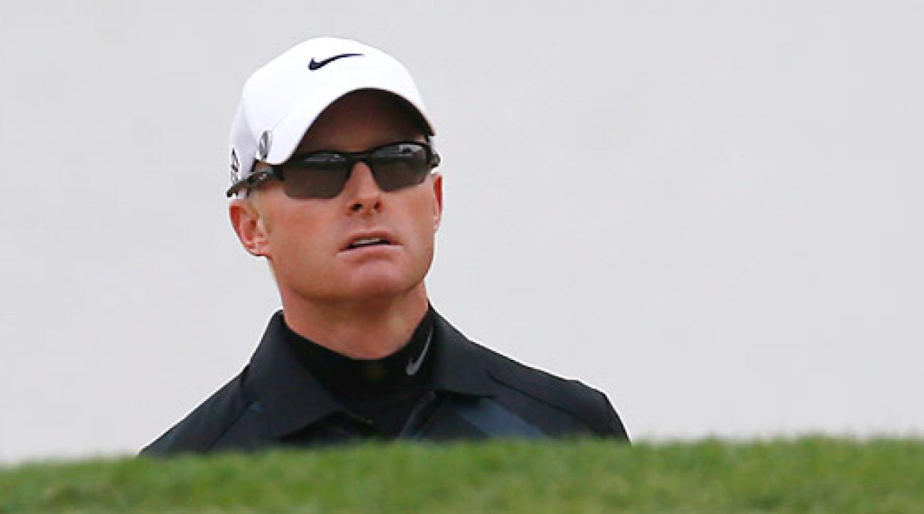 Simon Dyson was disqualified for a rules violation at the BMW Masters