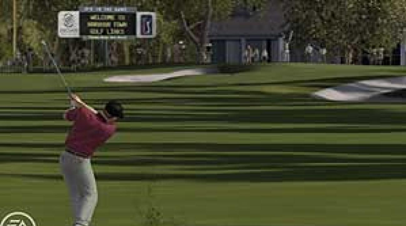 Tiger Woods PGA Tour '08 from EA Sports.