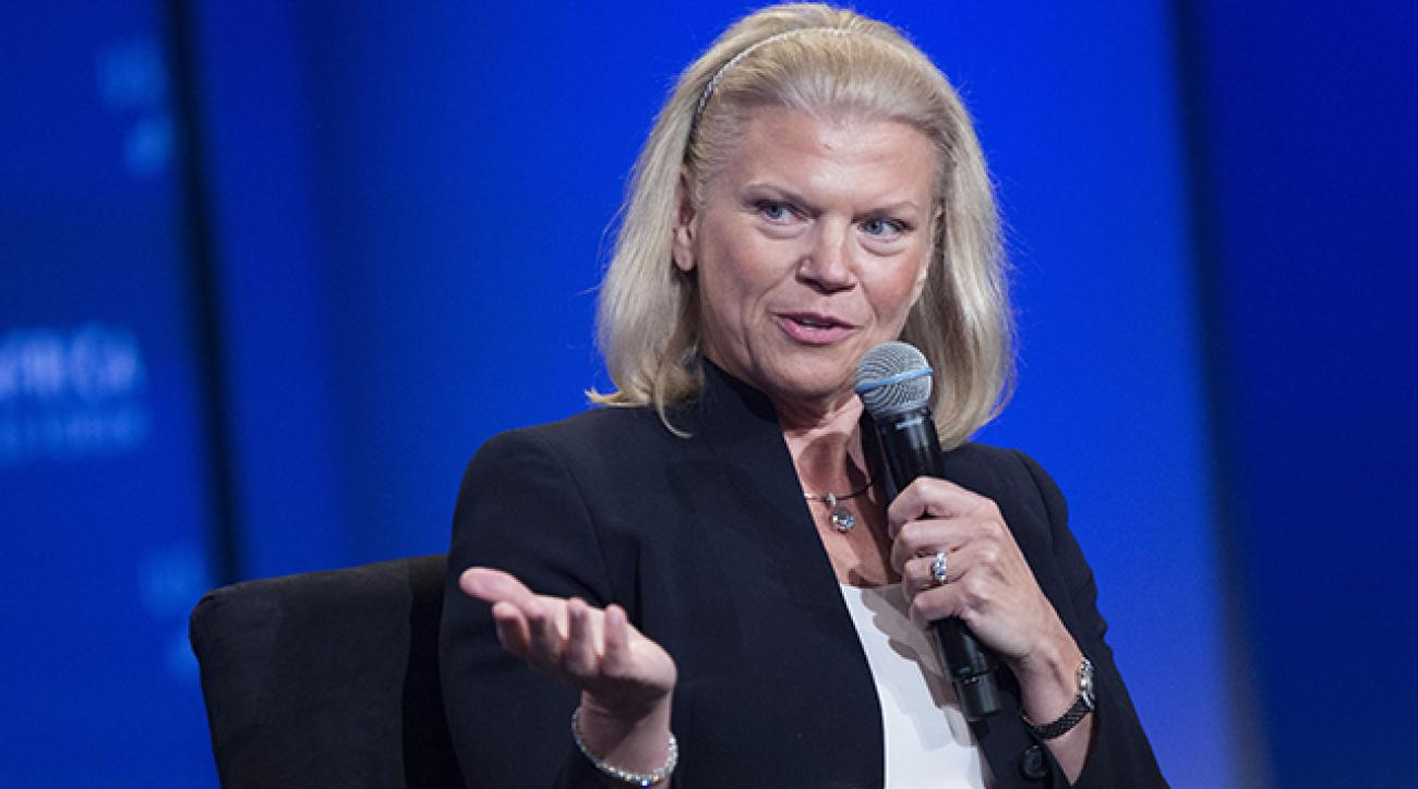 Ginni Rometty became the first female CEO of IBM in 2012.