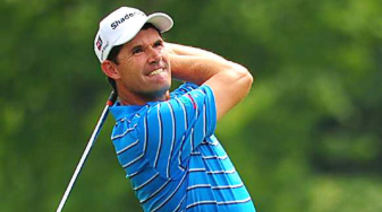 Padraig Harrington is in the field this week at the Reno-Tahoe Open.
