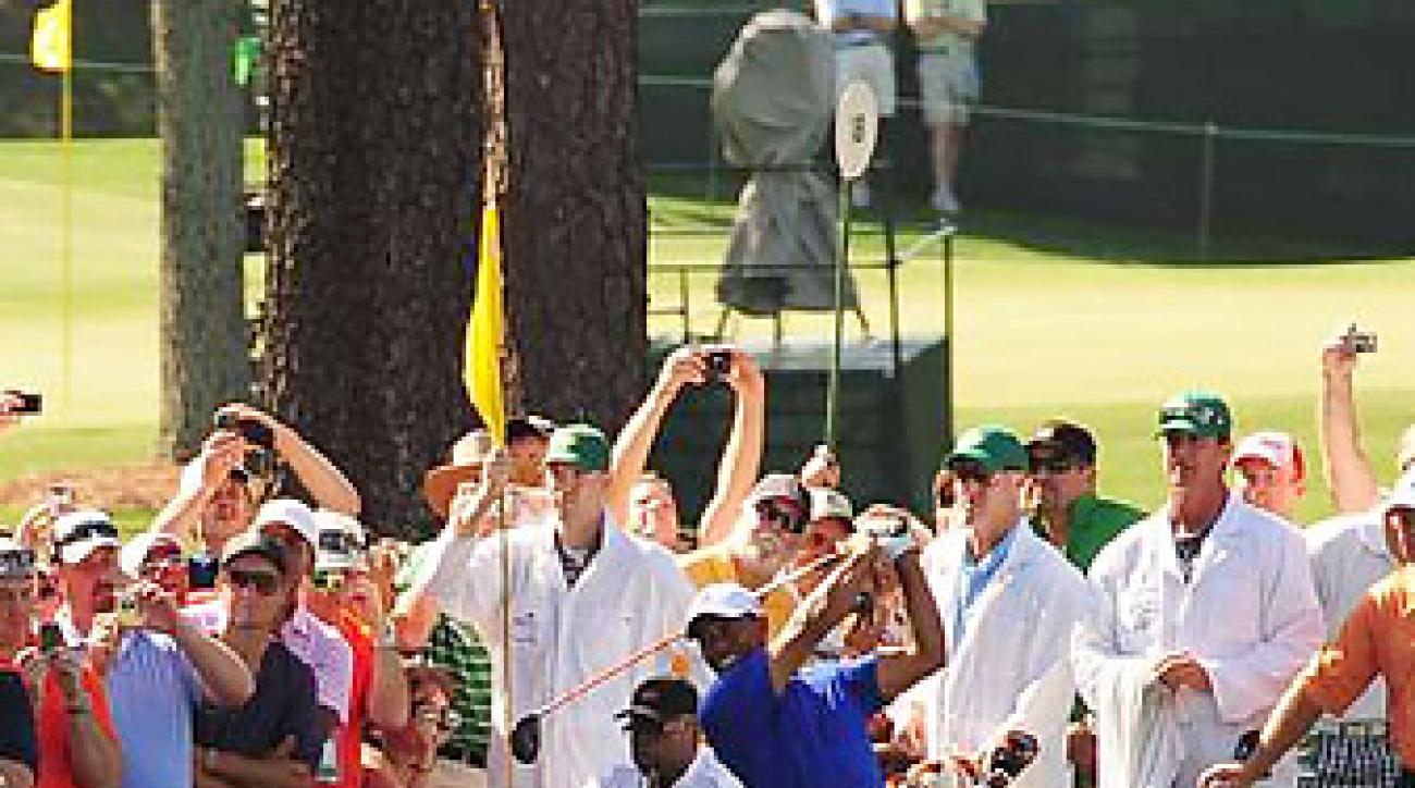 Tiger Woods is in the spotlight as Masters week kicks off.