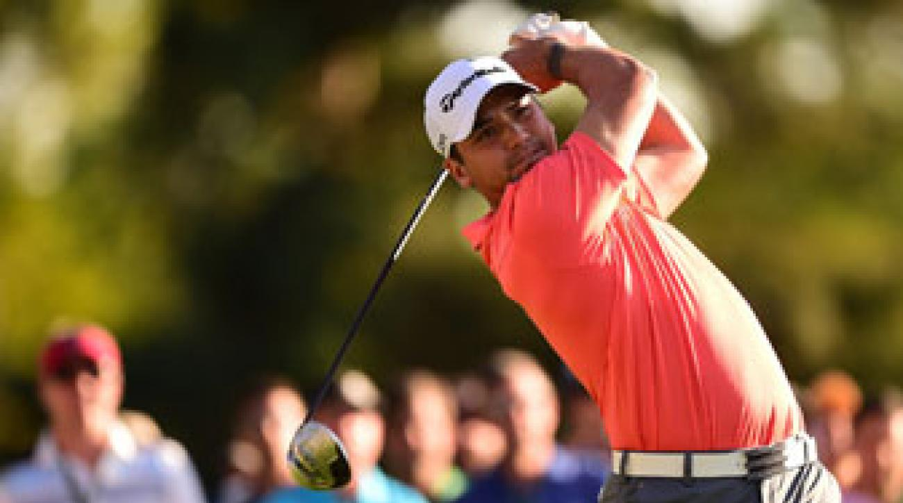Jason Day plays the 2014 Masters.