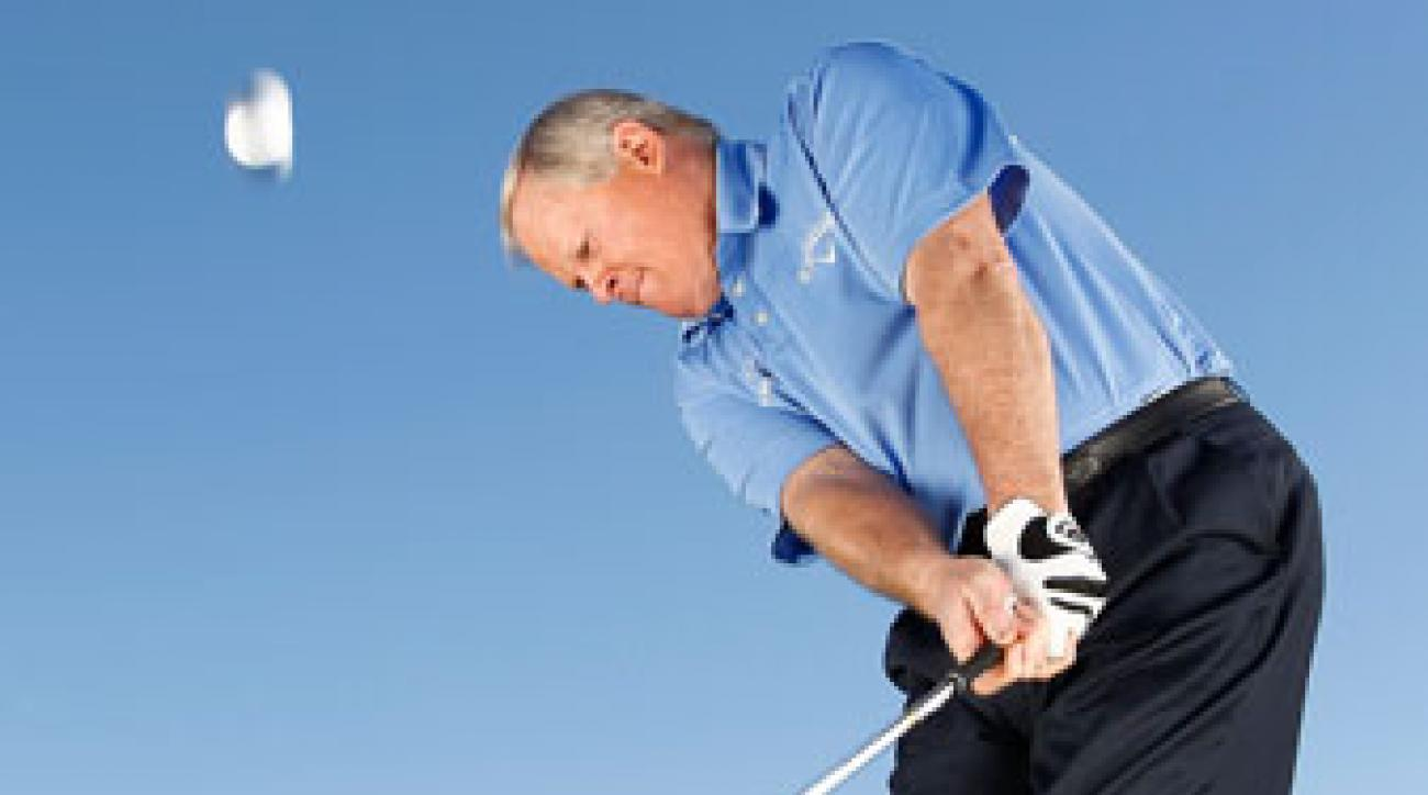 Tension leads to missed greens. Use a smooth rhythm both on and around the greens to let your short game save the day.