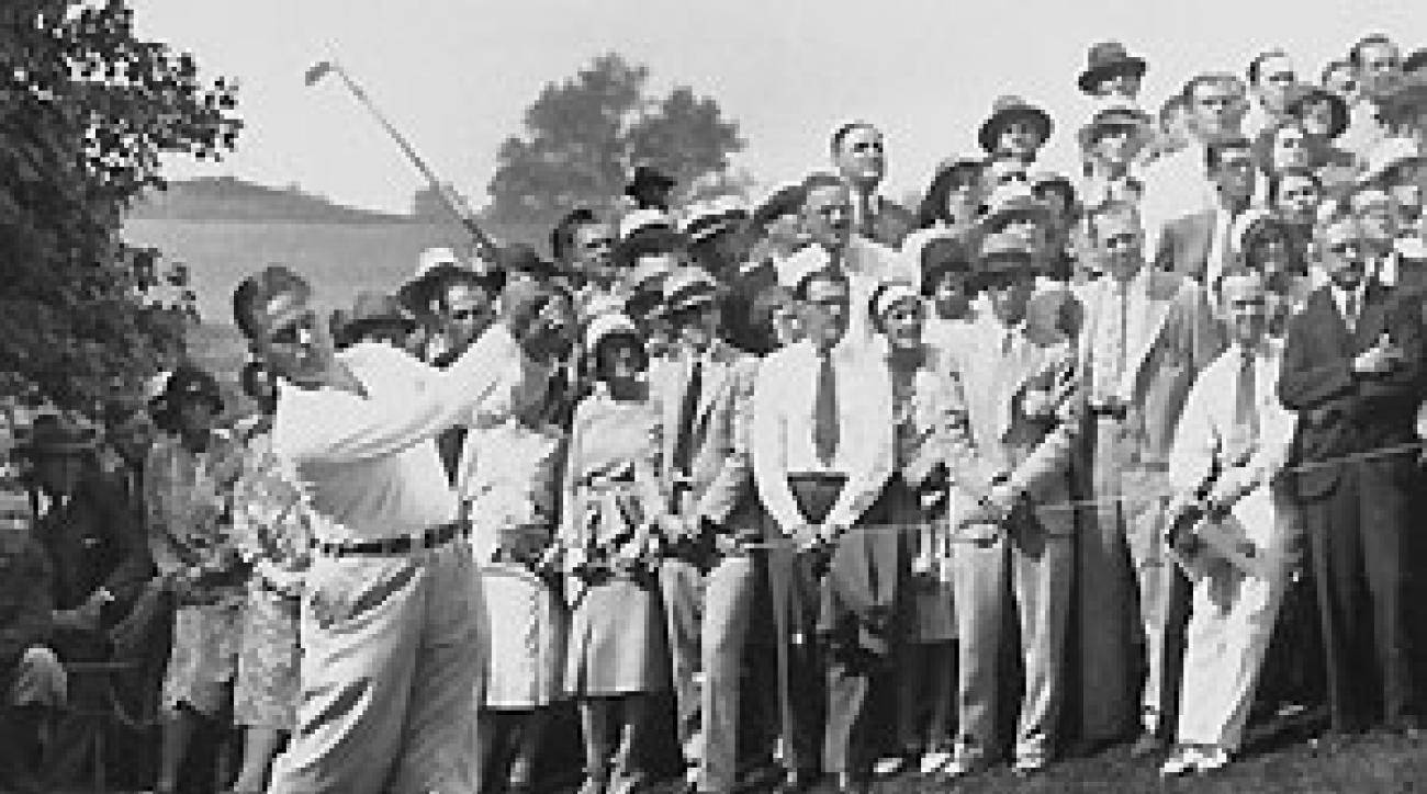 In 1930, all eyes were on Bobby Jones.