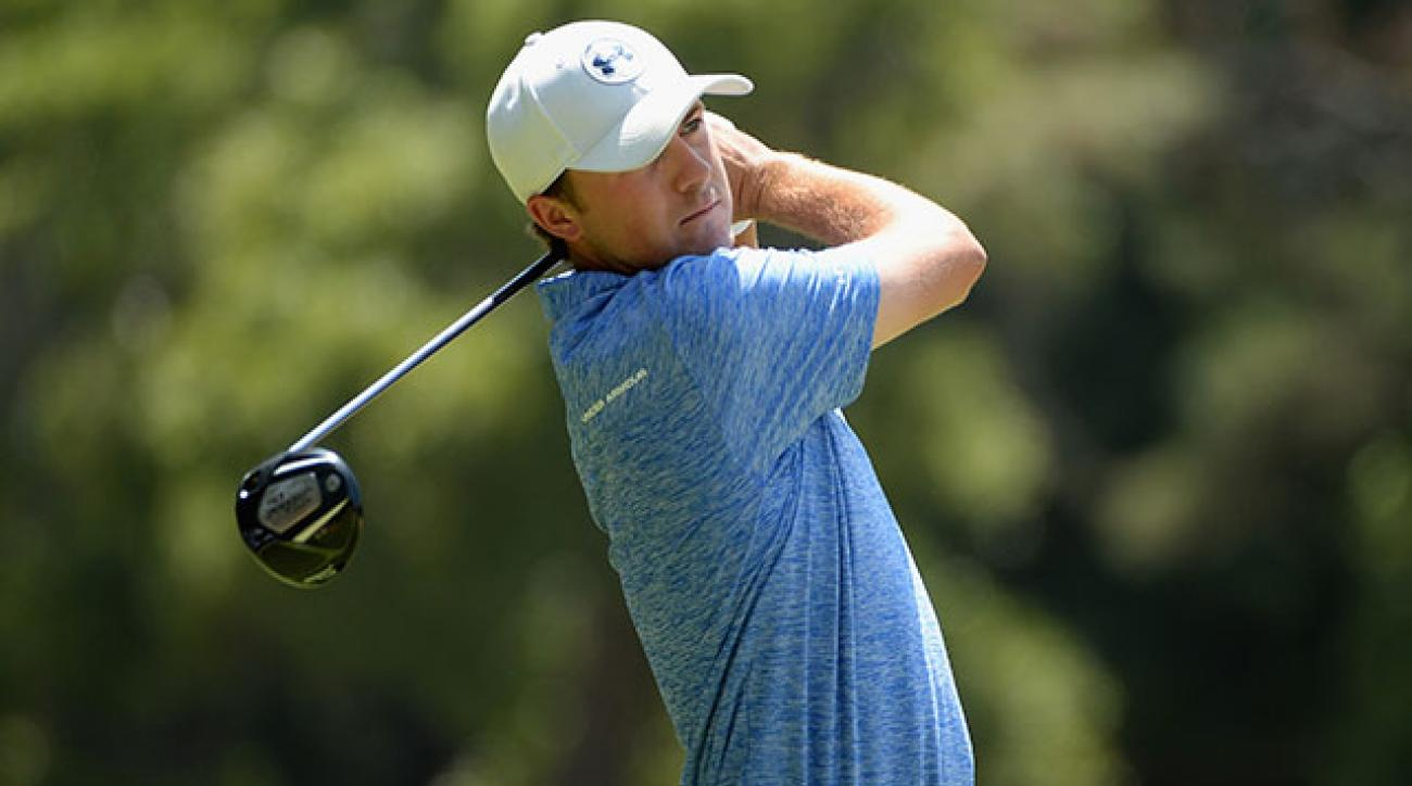 Jordan Spieth is currently No. 9 on the Official World Golf Ranking.