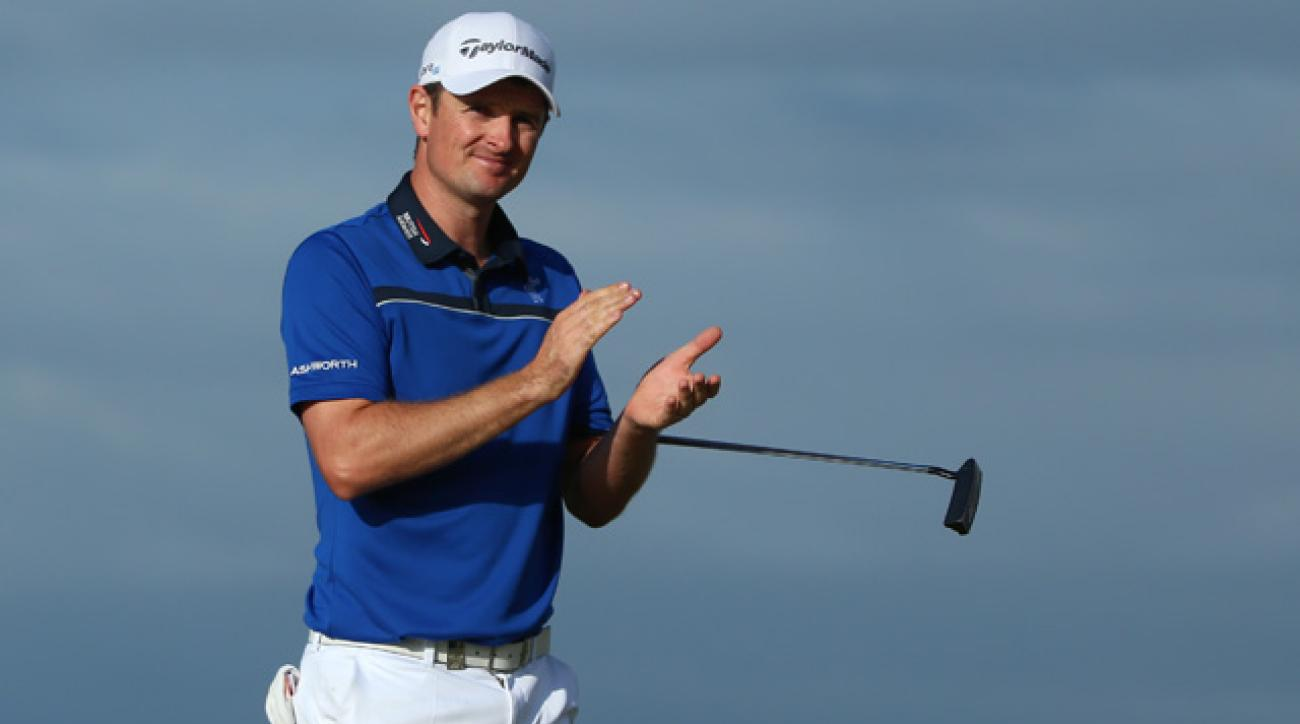 Justin Rose shot a 6-under 65 on Sunday.