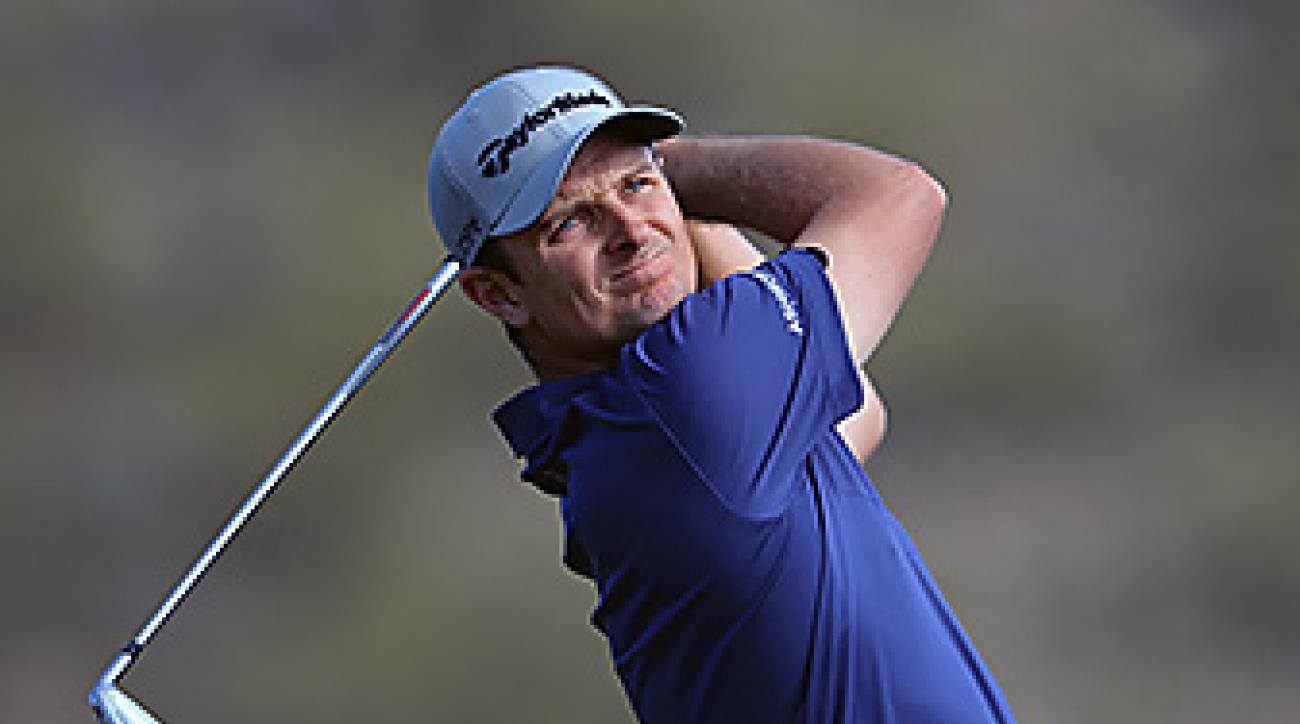 Justin Rose teed it up competitively for the first time in 2014 at Riviera two weeks ago.