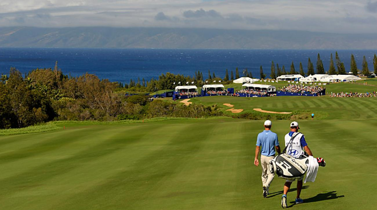 The Plantation Course at Kapalua in Maui, Hawaii, home of the Hyundai Tournament of Champions.