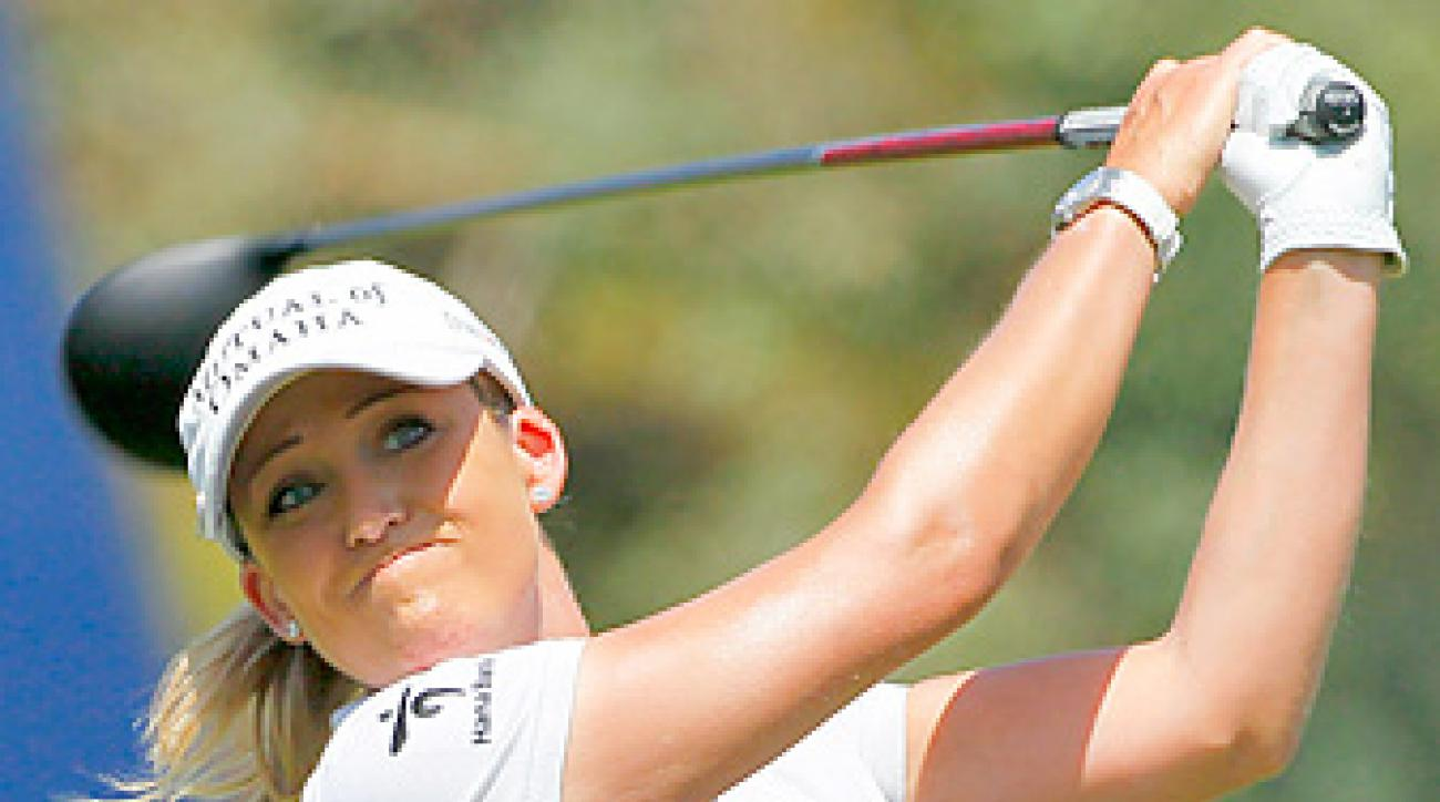 Cristie Kerr is currently the top-ranked American on the LPGA tour.