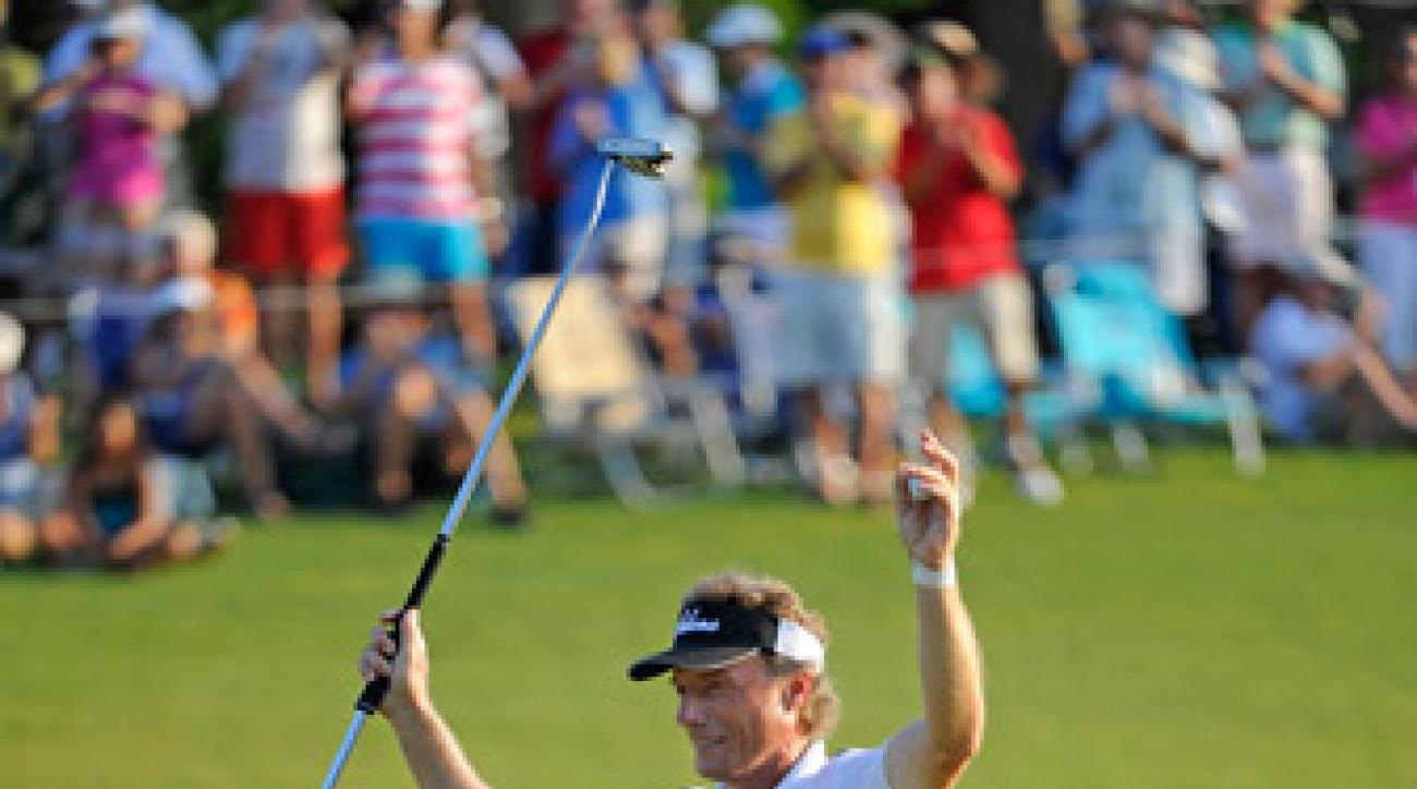 The victory was the 56-year-old Bernhard Langer's 19th on the senior circuit.