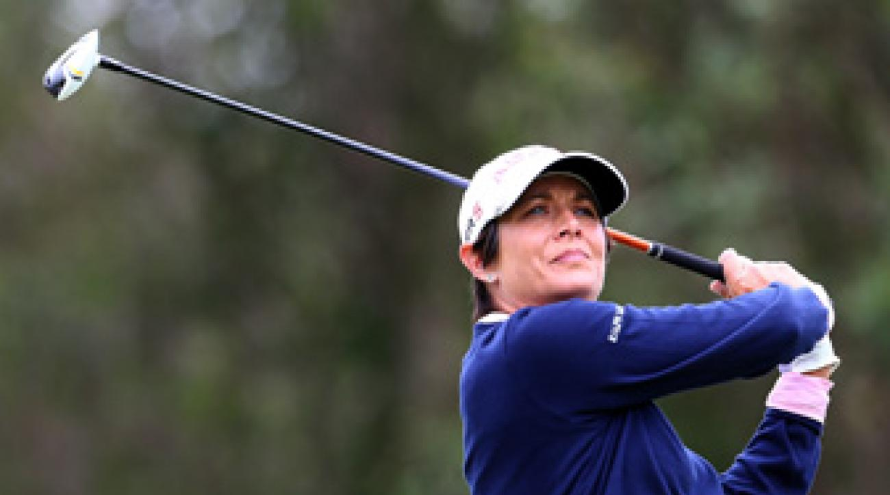 The 38-year-old Laura Diaz won her first and only LPGA Tour title in 2004.