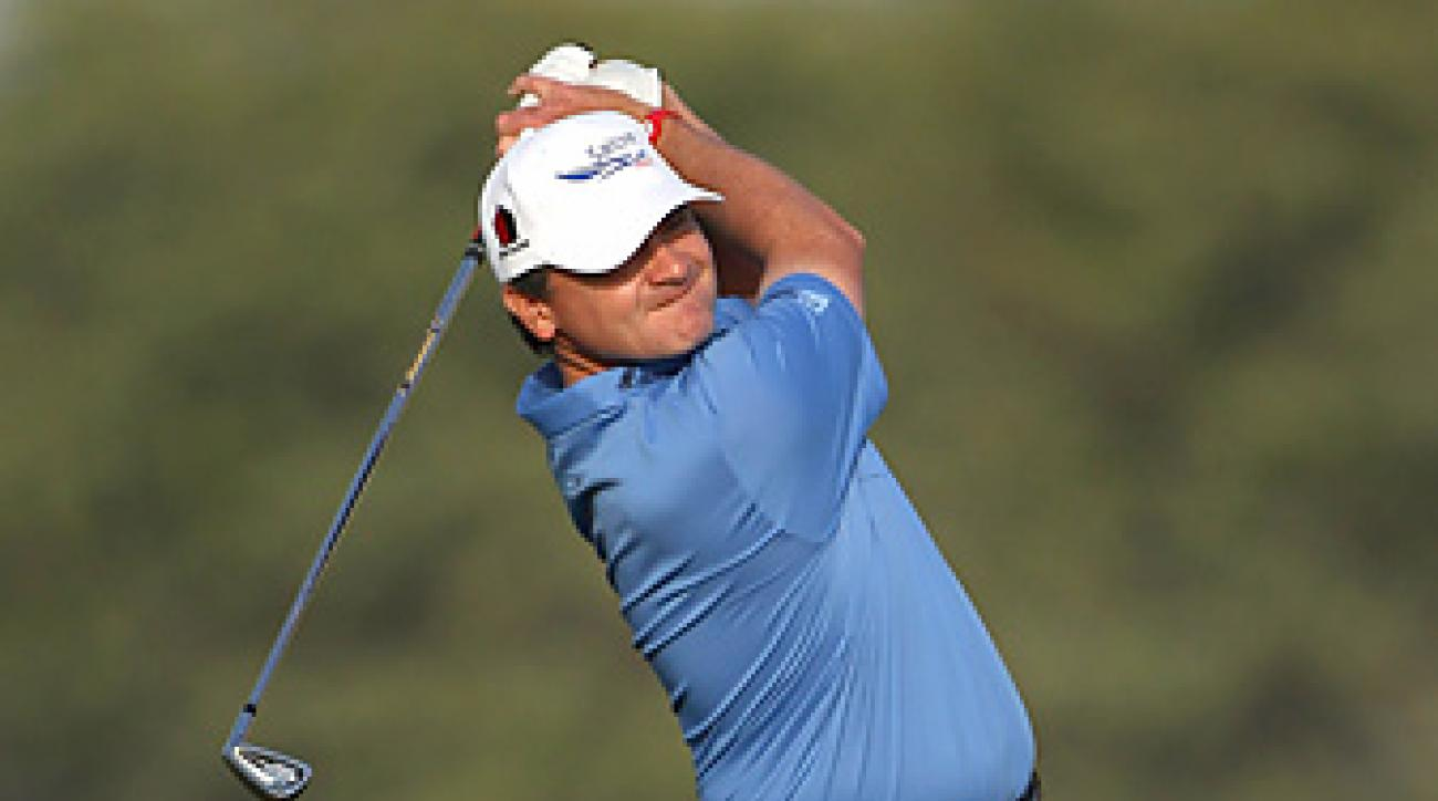 Paul Lawrie won the Qatar Masters by four shots.